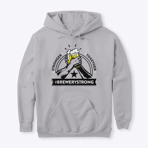 brewery strong hoodie